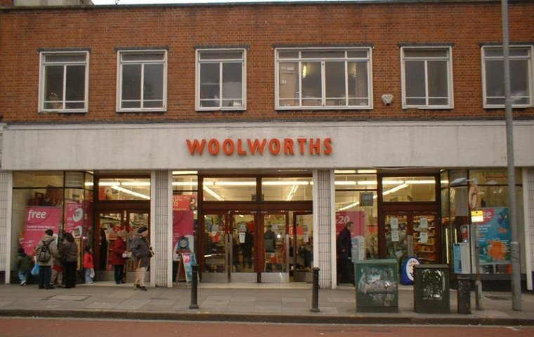 Woolworths high street store photo