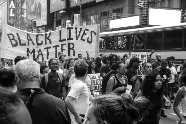 BLM protest in New York photo