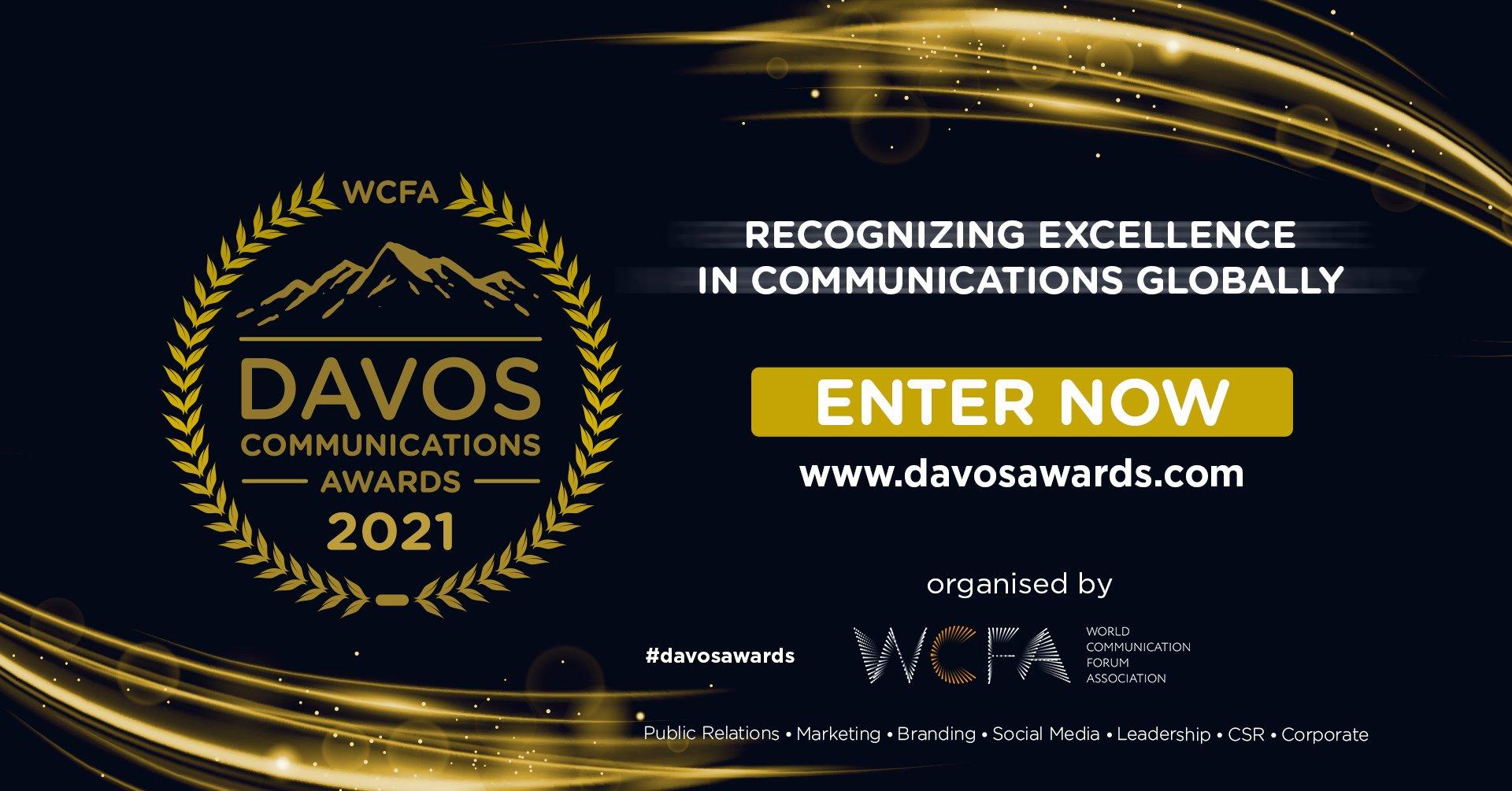 Davos Communications Awards celebrate excellent global PR