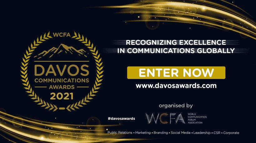 Davos Communications Awards banner