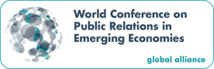Stuart Bruce speaking at World Conference on Public Relations in Emerging Economies