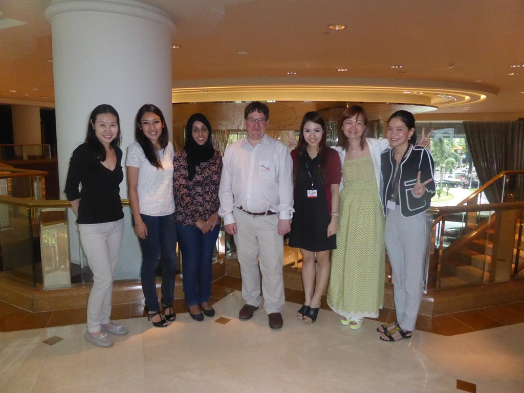 PR training delegates in Malaysia photo