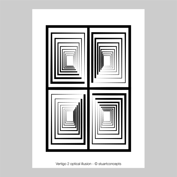 vertigo 2 optical illusion print stuartconcepts p0030 artwork