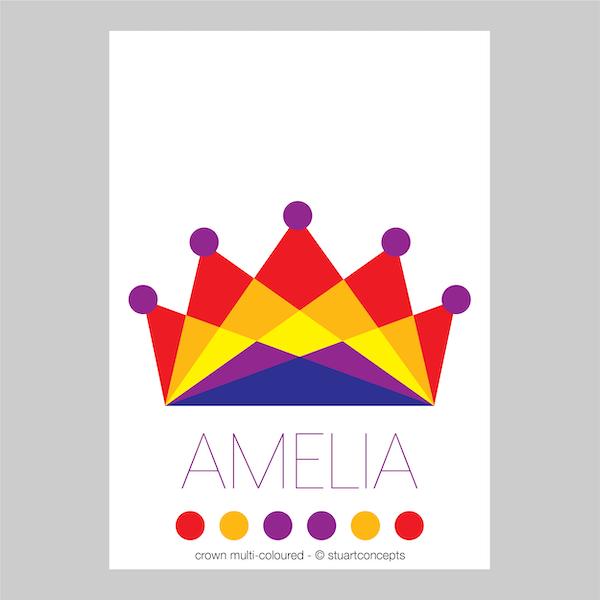 crown multicoloured name print stuartconcepts p0032 artwork