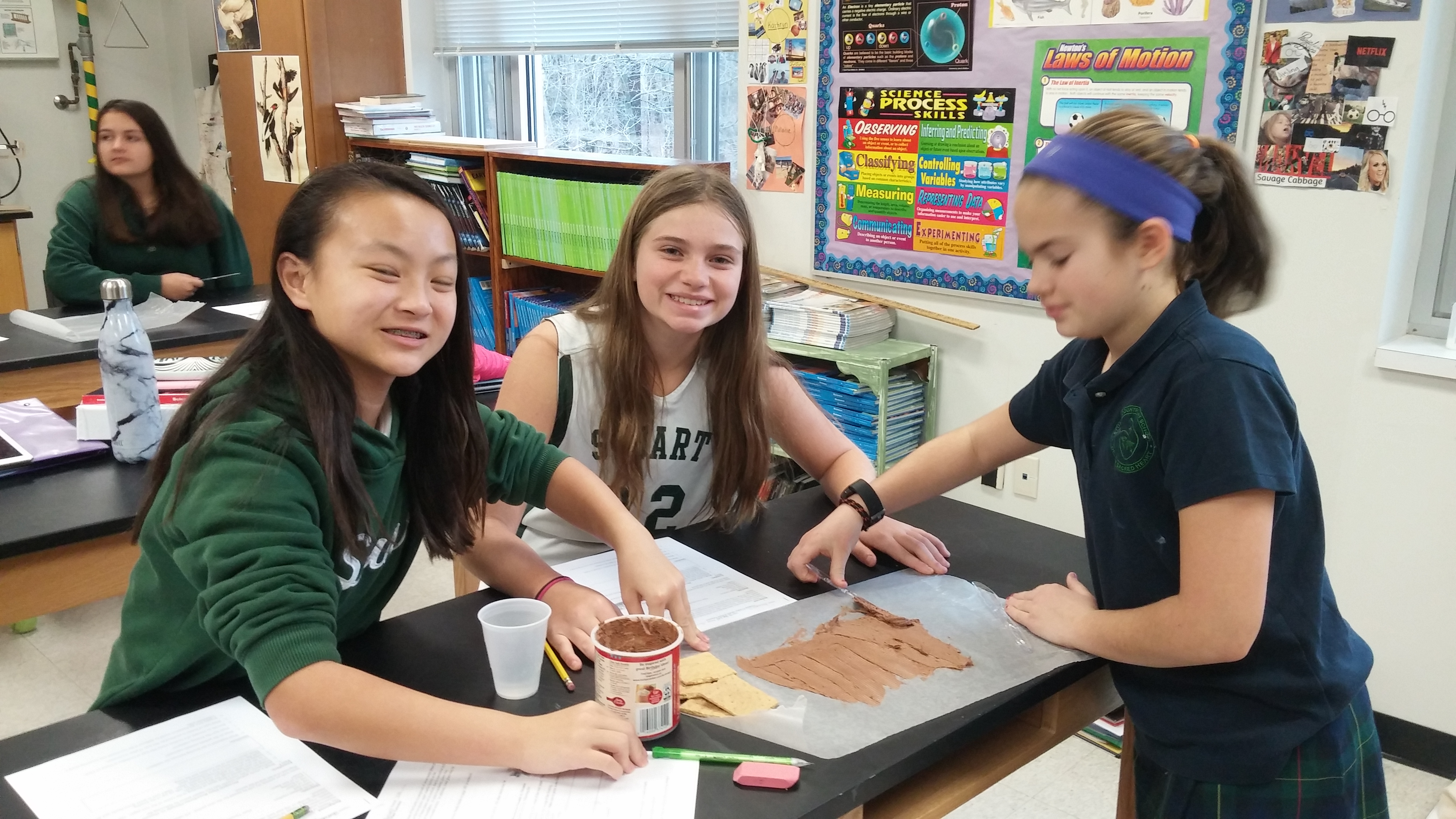 Middle School Science Students Discover A Tasty Way To