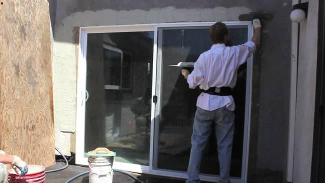 Match the original stucco finish expertly