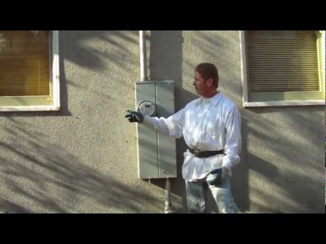 Apply plaster color finish over an existing color finish