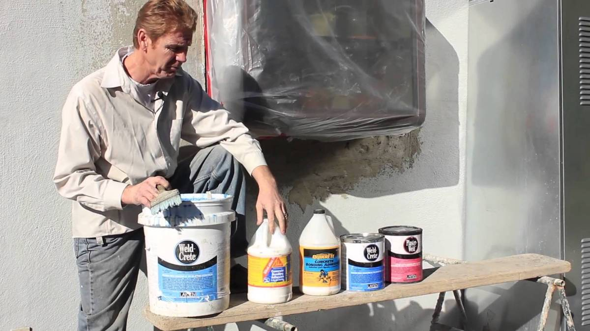Bonding Agent S For Concrete Stucco Or Plaster Liquid