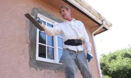 Teaching fine texture stucco finishes spanish lace or skip trowel