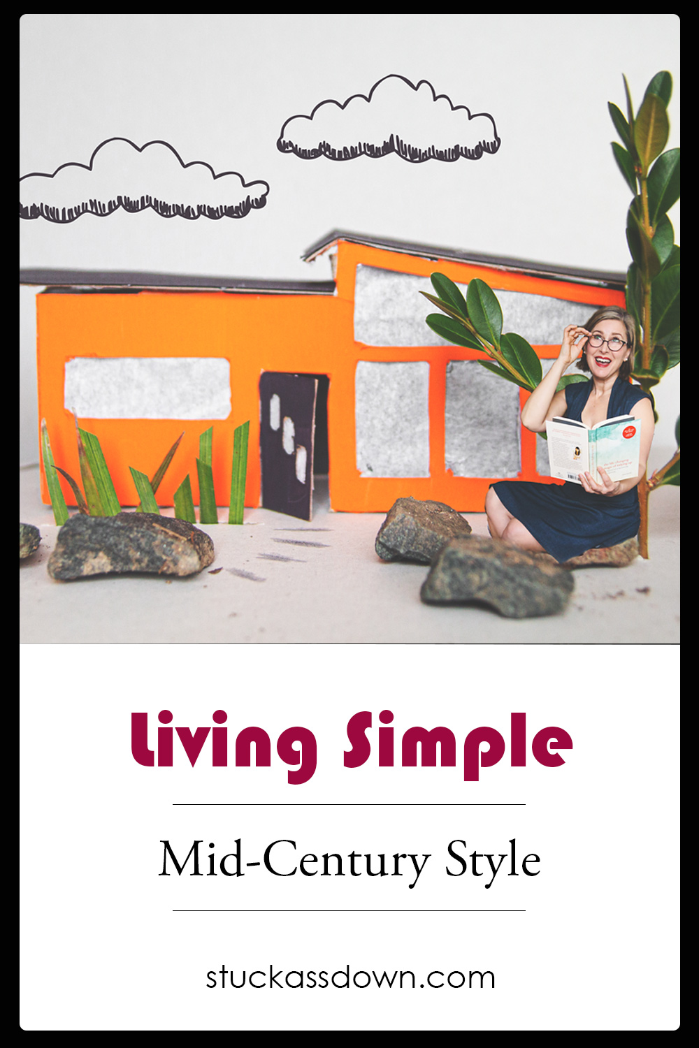 Living Simple Mid-Century Style