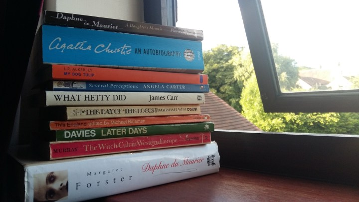 July 2016 books