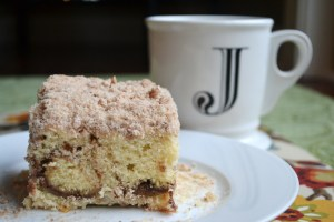 Cinnamon Swirl Coffee Cake and A Cedar Spoon Blog!