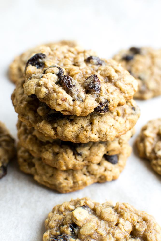 Oatmeal Raisin Cookies   www.stuckonsweet.com