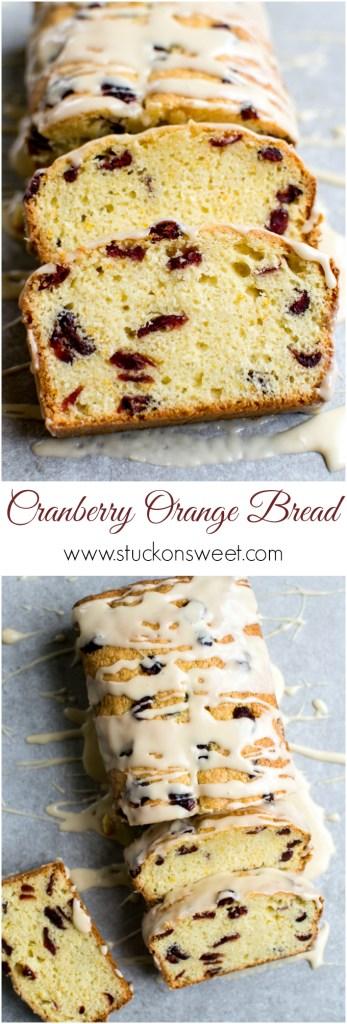 Cranberry Orange Bread | www.stuckonsweet.com