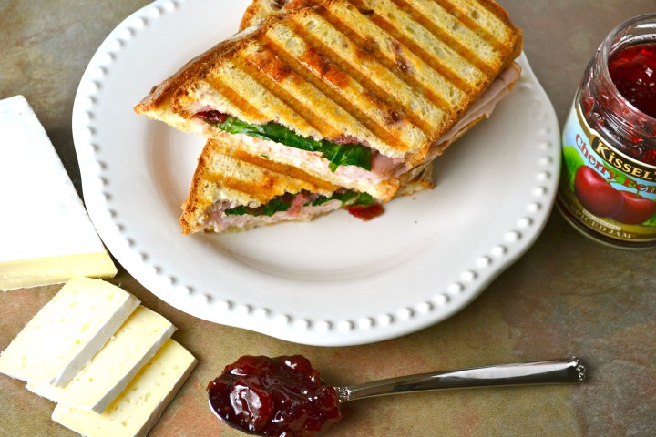 Turkey and Brie Panini