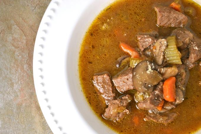 Vegetable Beef Stew   stuckonsweet.com