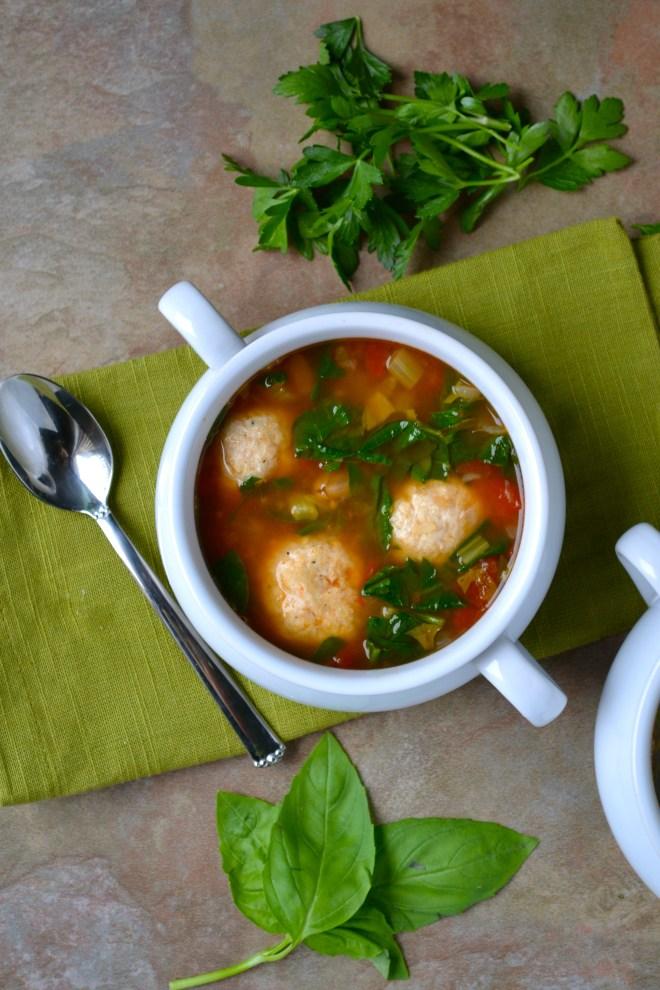Turkey Meatball Soup 4