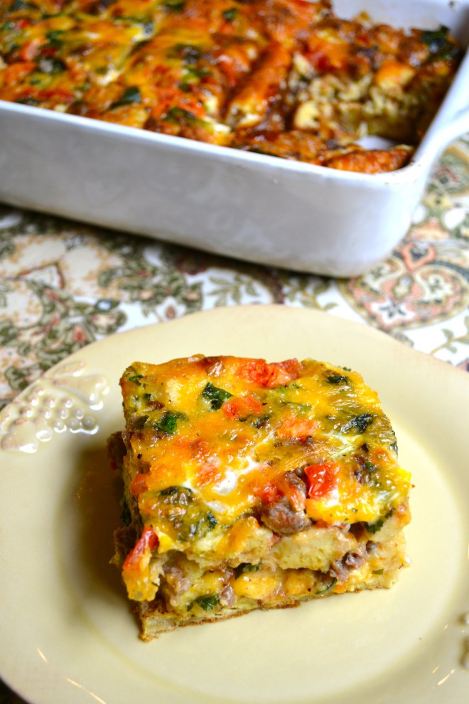 Egg and Sausage Casserole 4