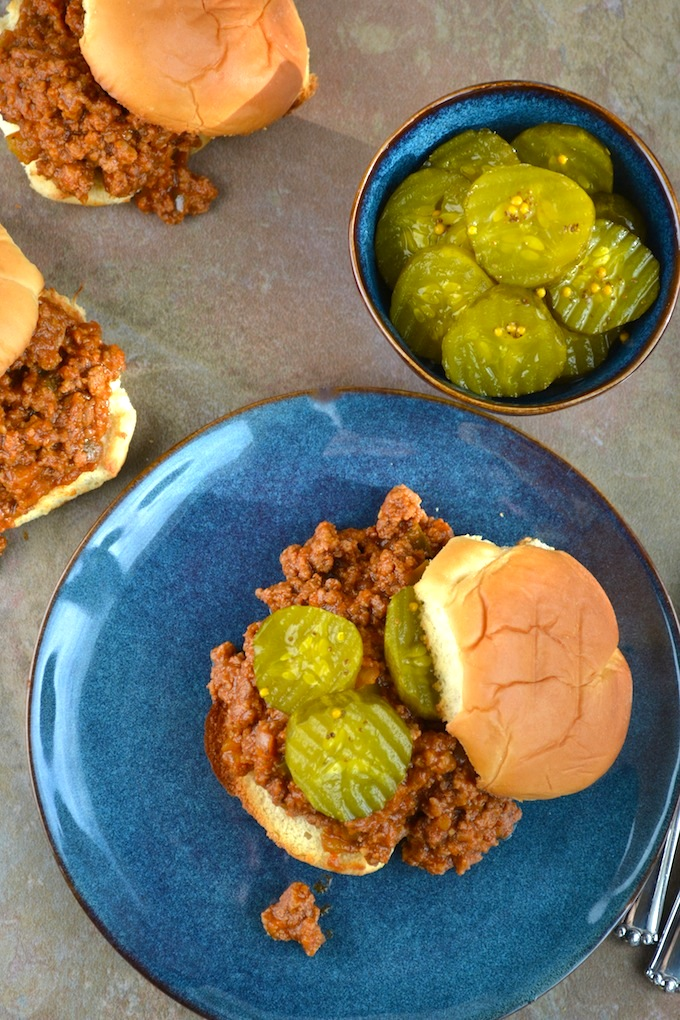 Sloppy Joes | stuckonsweet.com