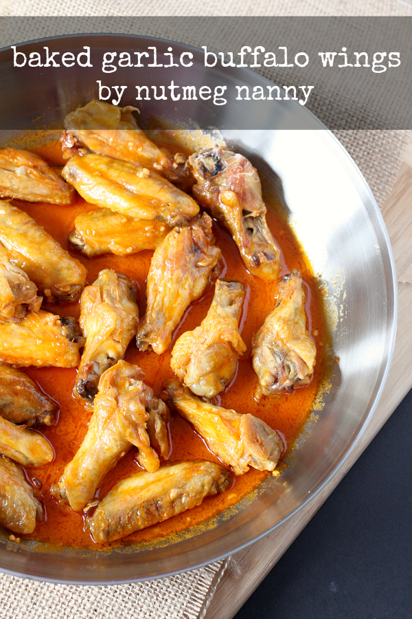 Baked-Garlic-Buffalo-Wings