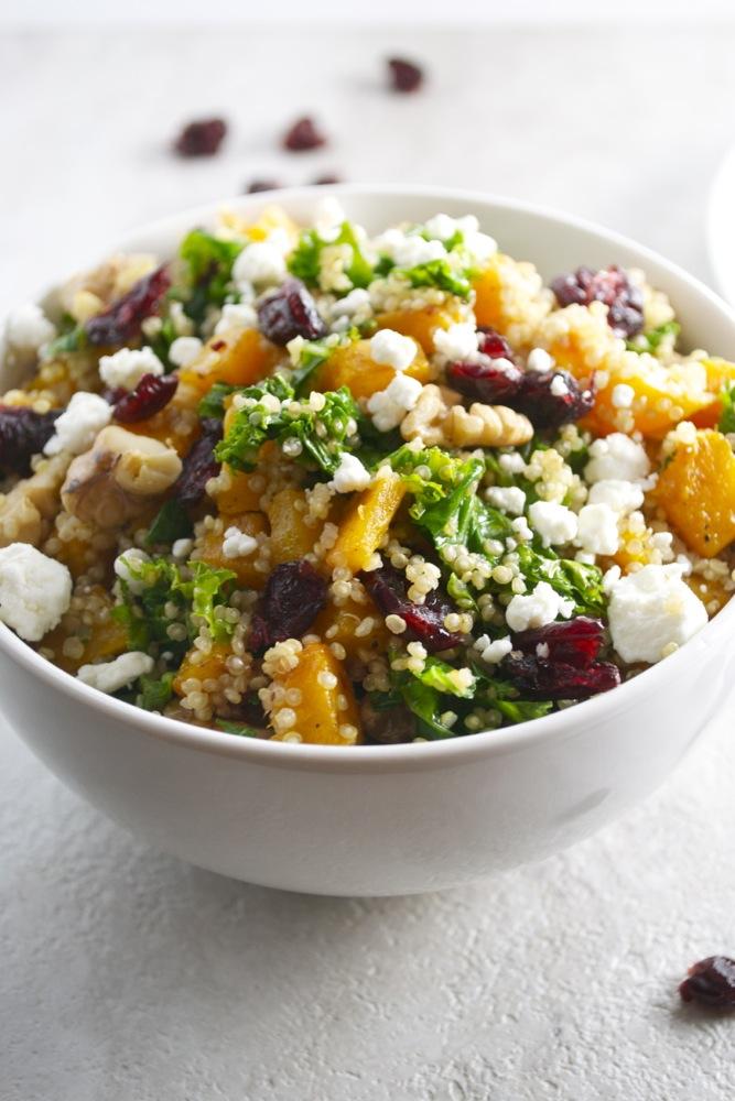 Butternut Squash Quinoa from stuckonsweet.com
