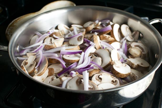 Sheery Glazed Rosemary Mushrooms
