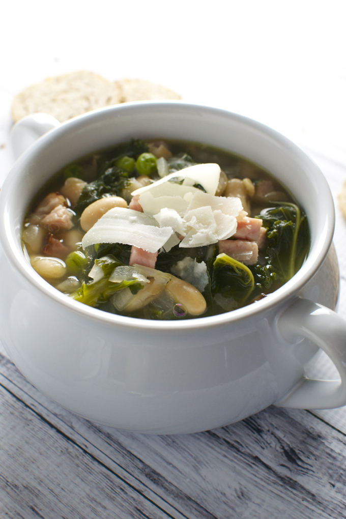 Kale and Bean Soup - 1