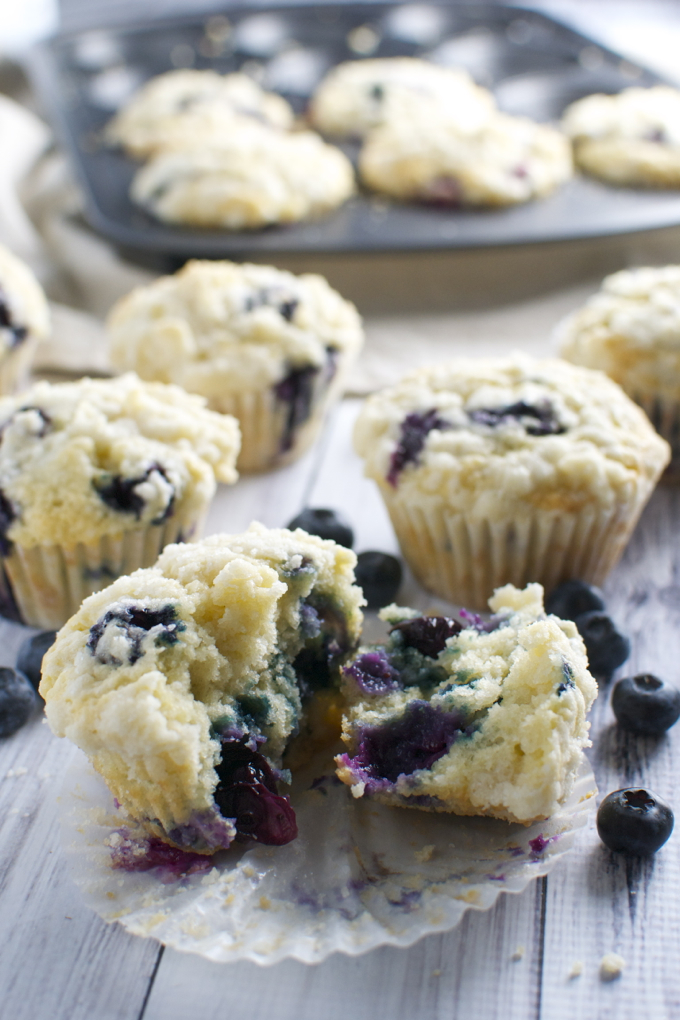 Blueberry Coocnut Muffins 3