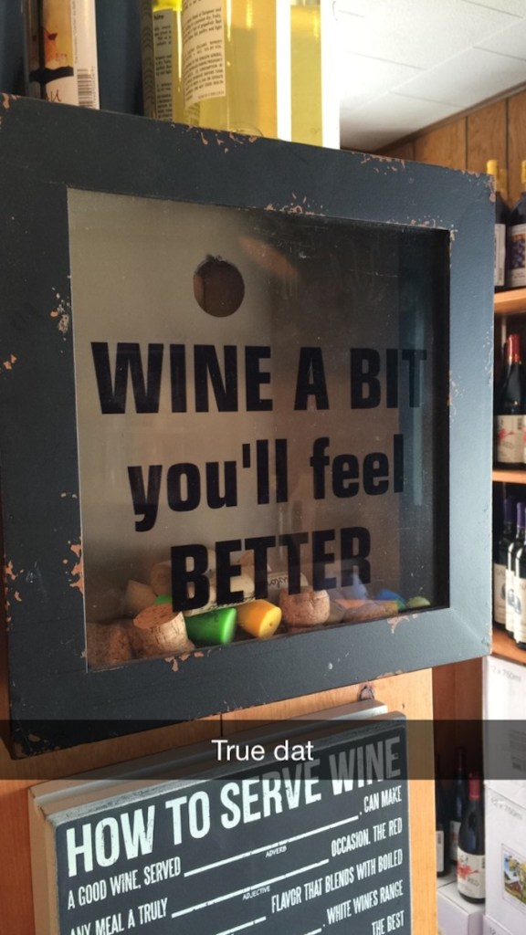 Wine Saying