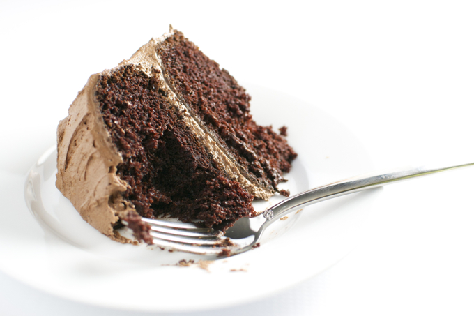 Chocolate Cake with Chocolate Buttercream Frosting 7