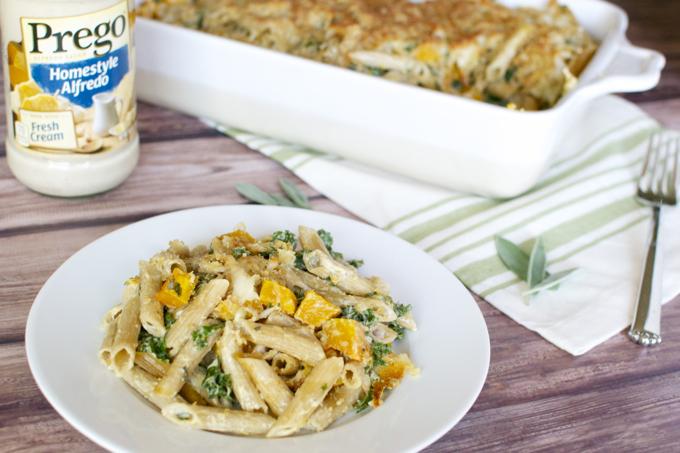Butternut Squash and Kale Pasta Bake 10