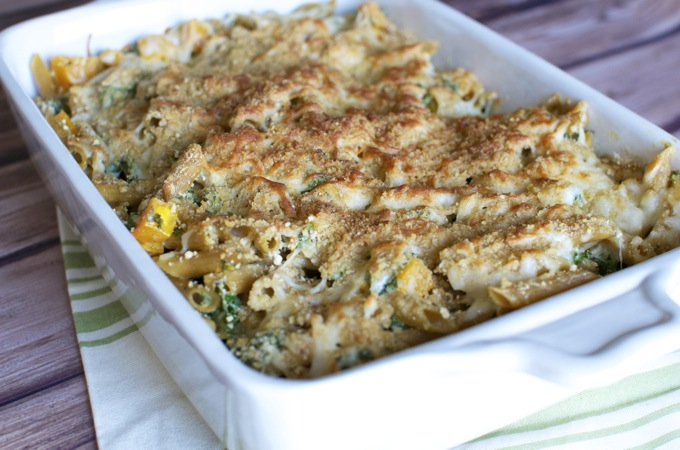 Butternut Squash and Kale Pasta Bake 8