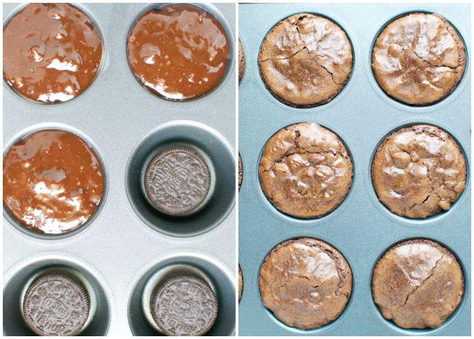 Oreo Brownie Cupcakes 3