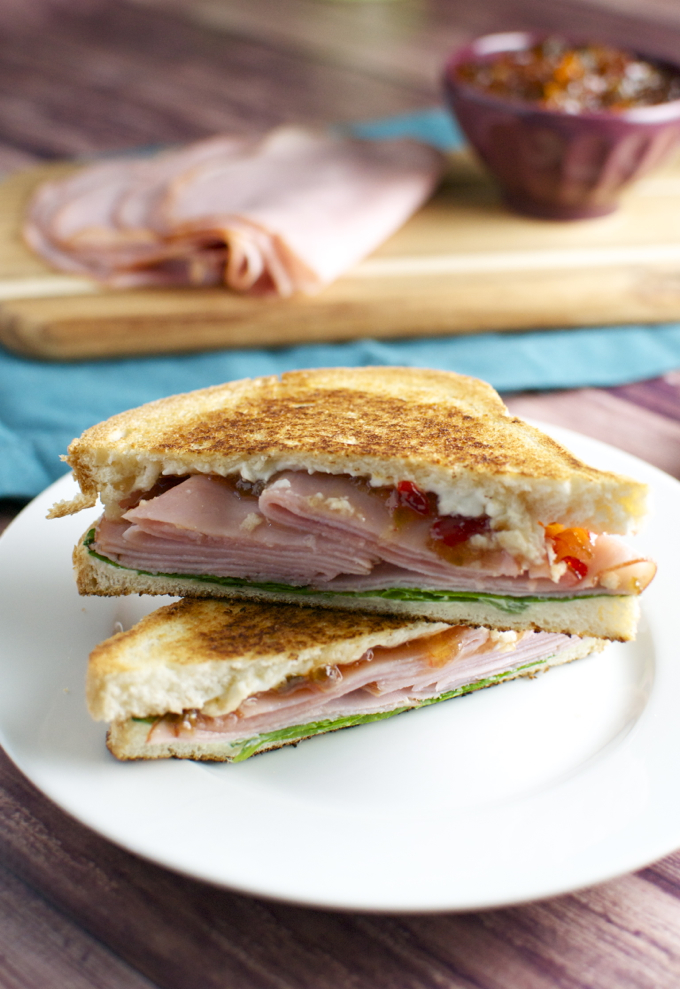 Sweet and Spicy Ham Sandwiches 1
