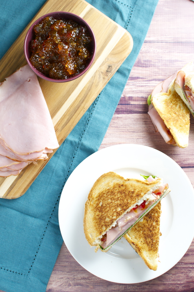 Sweet and Spicy Ham Sandwiches 2