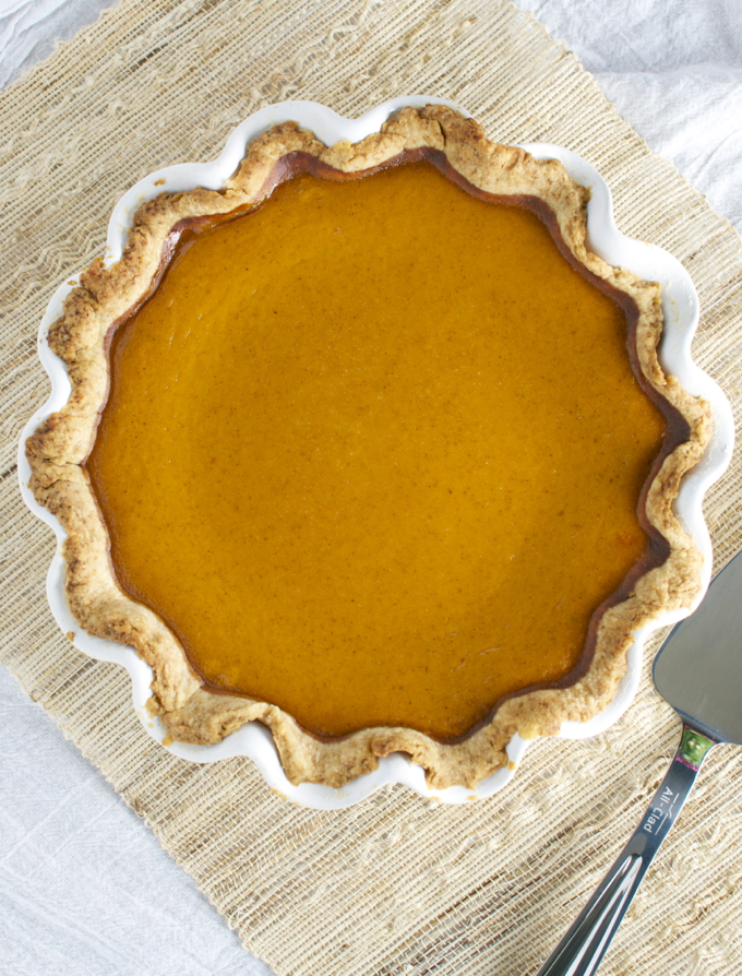 Pumpkin Pie Recipe 3