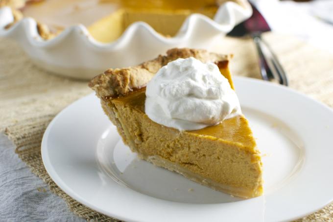 Pumpkin Pie Recipe 4