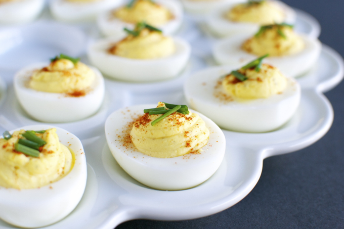Deviled Eggs | www.stuckonsweet.com