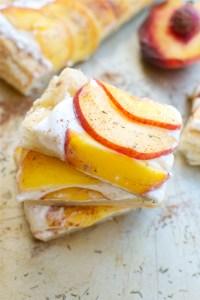 Maple Peach Tart