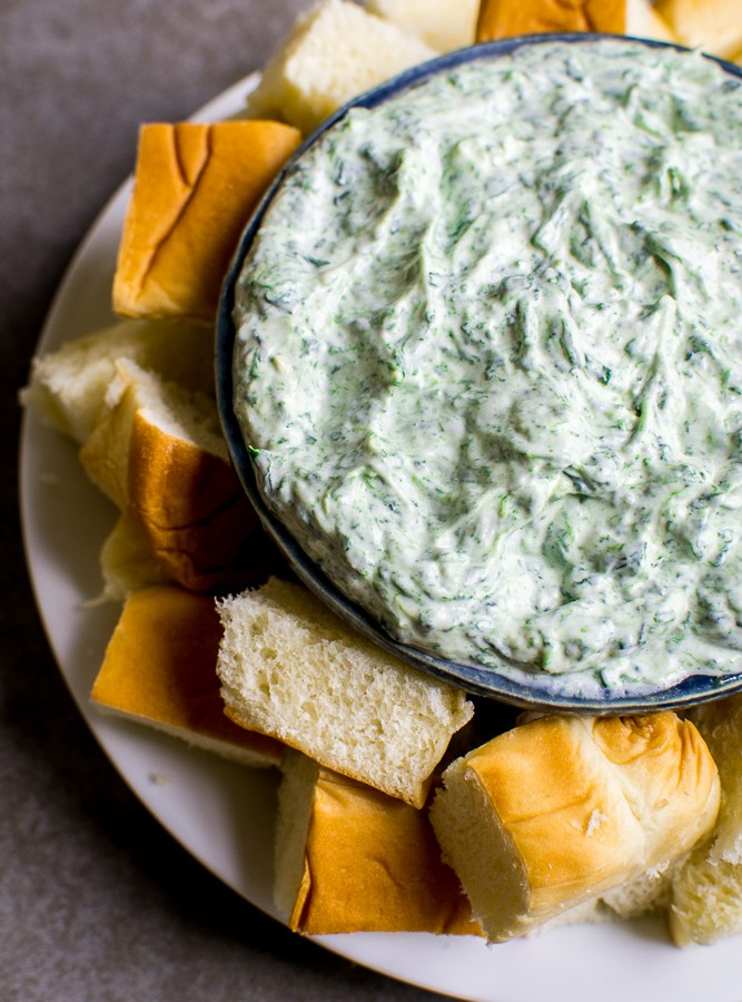 Spinach Dip | www.stuckonsweet.com