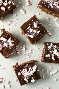 Peppermint Brownies   www.stuckonsweet.com
