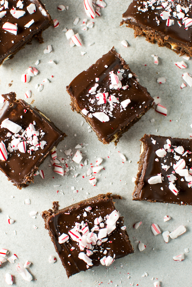 Peppermint Brownies | www.stuckonsweet.com