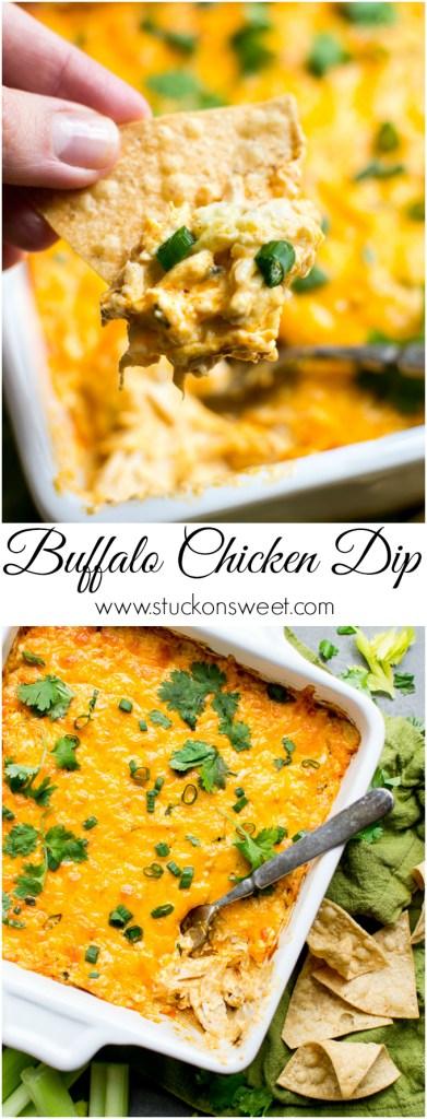 Buffalo Chicken Dip | www.stuckonsweet.com