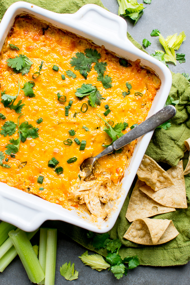 Buffalo Chicken Dip | www.stuckonsweet.com