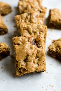 chocolate chip pretzel cookie bars photo