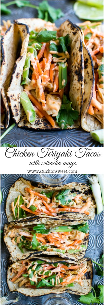 Chicken Teriyaki Tacos are such a delicious and easy dinner!
