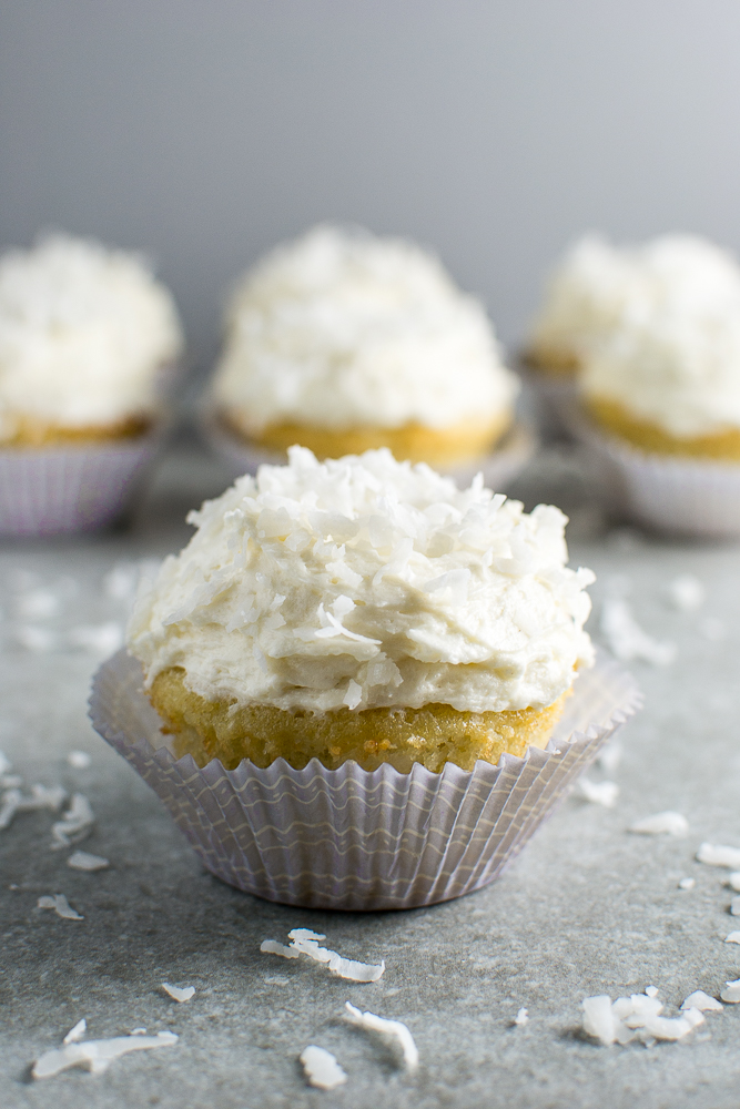 Coconut Cupcakes Picture
