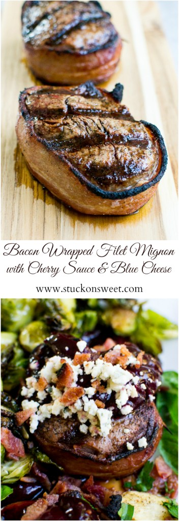 Bacon Wrapped Filet Mignon | Easy dinner reciper | So much flavor!
