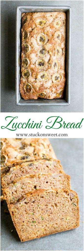 Zucchini Bread - a delicious and moist bread recipe! Perfect with coffee!
