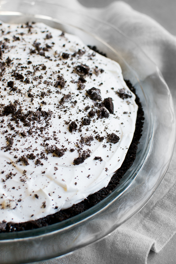 Oreo Pudding Pie